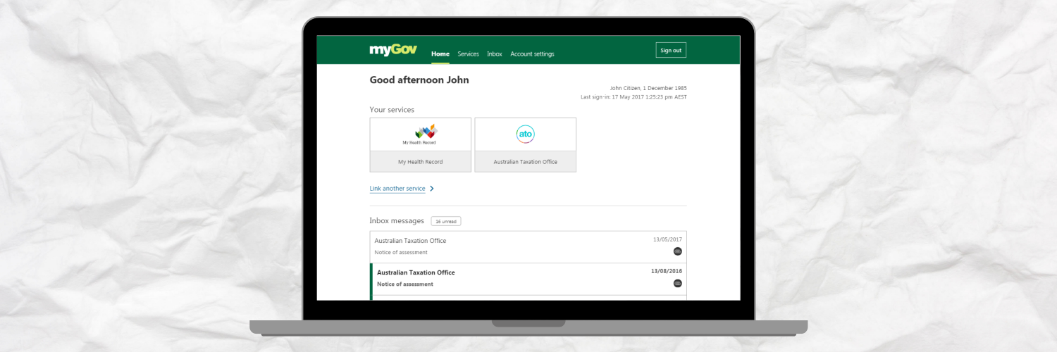 Introduction To MyGov & My Health Record